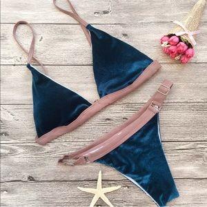 BRAND NEW‼️  velvet bikini.